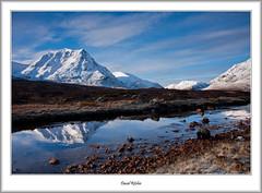 Meall a'Bhuiridh and River Coupall (flatfoot471) Tags: 2016 creagdhubh highlandsislands landscape march meallabhuiridh normal rural scotland unitedkingdom winter glencoe gbr