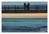 Light strips (bavare51) Tags: zingst seebrücke ostsee balticsea menschen buhnen licht