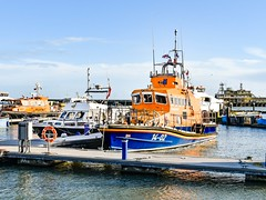 Lifeboat at Ramsgate 14-02 (philbarnes4) Tags: rnli lifeboat ramsgate thanet kent england philbarnes dslr nikond5500 harbour rescue