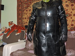 DSCN3496 (Axelweb) Tags: chubby bbw girl lady female rainwear raincoat pvc shiny wellies rubber boots gas mask plastenky holinky suit plastic wellington gumboots galoshes gummi gasmask gloves gogo pleaser heeled rainsuit rain
