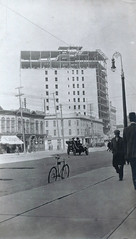Construction of the Gault Hotel and McArthur Building (vintage.winnipeg) Tags: winnipeg manitoba canada vintage history historic construction