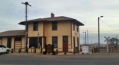 At the Depot 2017 (THE RANGE PRODUCTIONS) Tags: train southwestus station depot road railroad building newmexico nm