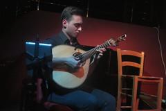 Carla Pires (2017) 04 - portuguese guitar player (KM's Live Music shots) Tags: worldmusic portugal fado carlapires portugueseguitar guitar songlinesfadoseries thepheasantry