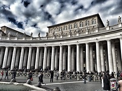 (dianasantucci) Tags: vaticano basilica travel italia metropoli chiesa papa place sky clouds architettura cittàeterna sanpietro roma