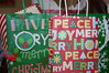 Gift Bags. (dccradio) Tags: lumberton nc northcarolina robesoncounty bag bags giftbags christmas holiday peace joy merry home handle gift gifts christmasgift holidaygift inside indoors nikon d40 dslr