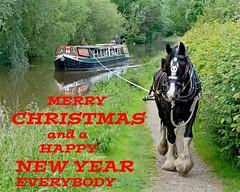 Kennet Canal Horse drawn Boat (Warnham Bill) Tags: kennet canal horse drawn boat bill thornton