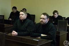 В Минской духовной академии прошла встреча с мастером боевых искусств Ботвинником А.Б.