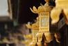 Lanterns (Teruhide Tomori) Tags: 京都 日本 北野天満宮 神社 参拝 伝統 寺社建築 kyoto tradition japon japan shrine architecture decoration kitanotenmangushrine lantern construction 灯籠