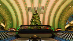 St. Louis Union Station winter 2017 (bd_c2c) Tags: ifttt 500px hdr fall winter holiday architecture canon autumn adobe photoshop lightroom eos city stairs christmas tree saint louis st missouri lights downtown colorful landmark stairway union station leading lines pattern wonderland 70d efs1018mm f4556 is stm william davis photography attraction