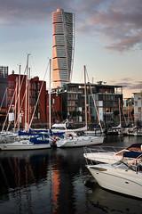 IMG_7423-1 (Andre56154) Tags: schweden sweden sverige malmö hafen harbour turm tower schiff ship himmel sky wolke cloud boat water