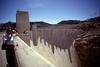 Hoover Dam - Kodachrome - 2001 (10) (Ron of the Desert) Tags: film slidefilm positivefilm reversalfilm kodachrome kodak dam hydroelectric hooverdam coloradoriver lakemead hydropower bureauofreclamation