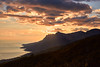 Beautiful landscape of mountain and sea layer in sunset ray (Sergey_pro) Tags: sunlight beautiful view blacksea crimea september cloud rays travel blue sunset forest sunrise hill landscape yellow red pink purple mist morning mountain nature sky sea rai park sunny high fog top environment vacation background beauty horizon light misty natural outdoor ray sun valley nice cliff peace peak