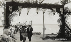Winnipeg Beach - Gala Day (vintage.winnipeg) Tags: winnipeg manitoba canada history historic vintage winnipegbeach beach
