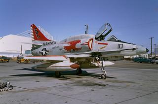 A-4M Skyhawk 158173 of VMAT-102 SC-10