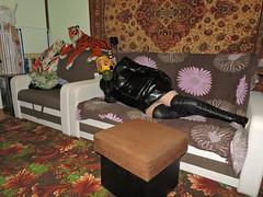 DSCN3490 (Axelweb) Tags: chubby bbw girl lady female rainwear raincoat pvc shiny wellies rubber boots gas mask plastenky holinky rainsuit rain suit plastic wellington gumboots galoshes gummi gasmask gloves