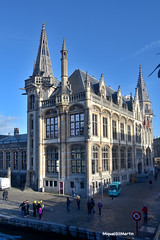 Gant_DSC_4611_001_Gant (gilmartinmiquel) Tags: gant gent gante gand monumental arquitectura belgium bélgica ciutat ciudad city turisme turismo canal