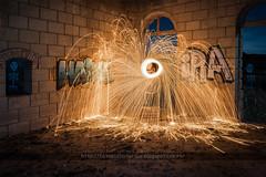 _LPG6181(EstaciónAlcorisa)3 (Luis Pitarque García) Tags: alcorisa bajoaragón teruel aragón abandono abandonment abandoned estaciónabandonada estación estacióndetren lightpainting light lanadeacero nightphotography night urbanexploration urbannight misterio fotografíanocturna luna lunallena arquitectura grafiti