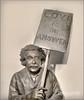 Einstein Brainwash (ImageMD) Tags: brainwash einstein bronze sculpture art miami florida topaz oligotone shockofthenew