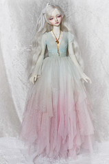 Frost Flower (AyuAna) Tags: bjd ball jointed doll dollfie ayuana design handmade ooak clothing clothes dress set outfit fashion couture sewing crafting sd sd13 sd10 size abjd little monica littlemonica chloe whiteskin