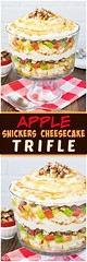 Apple Snickers Chees (alaridesign) Tags: apple snickers cheesecake trifle