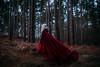 His Send-off. (Thomas Oscar Miles) Tags: fineart portraiture conceptual darkart selfportrait thomasoscarmiles cloak magic elf red nikon photography art
