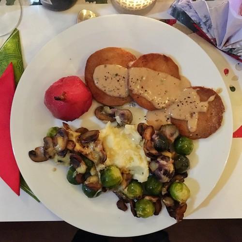 Veggie Christmas Dinner
