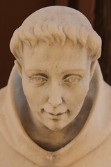 Statue of a Saint (Itinerant Wanderer) Tags: newmexico santafe cathedralbasilicaofsaintfrancisofassisi statue saint catholic
