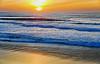 """A sunset is the sun's fiery kiss to the night"" (Ciceruacchio) Tags: sunset tramonto coucherdesoleil sun night notte nuit kiss baiser bacio ocean oceano sea mer mare atlanticcoast côteatlantique costaatlantica aquitaine aquitania france francia frankreich nikond750"