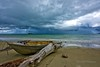 Mid-day storm (DeanJewellPhotography) Tags: daintree daintreerainforest daintreenationalpark daintreecoast storm seascape landscape queensland australia beach weather wetseason clouds ngc
