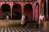 Mathura. Uttar Pradesh. India. (Tito Dalmau) Tags: men braman temple mathura uttarpradesh india