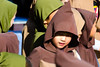 Young Jedi Chooses the Dark Side (Kevin MG) Tags: jedi darkside boy young youth little costume disney disneyland training amusementpark fun outdoor brown redeyes