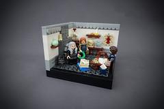 Gondor´s A Christmas Carol - Humbug - Part 1 (MOC Series) (-Balbo-) Tags: lego moc creation bauwerk gondor gondor´s christmas carol lordoftherings hobbit herr der ringe eine weihnachtsgeschichte denethor faramir pippin ebenezer scrooge bob cratchit
