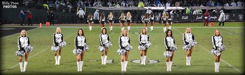 2017 Oakland Raiderettes (Line 3) - Coliseum