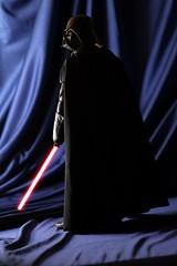 Vader is waiting (guitar hero78) Tags: sideshow starwars darthvader vader sith actiondoll toys toyphotography laser sword stilllife skywalker force fujifilm xf60mm xe1 jedi darth