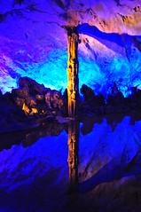 Reflection (Ryan Hadley) Tags: reflection blue reedflutecave cave reedflutescenicarea guilin china asia
