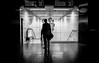 at the subway (ThorstenKoch) Tags: street streetphotography stadt strasse schatten shadow silhouette schwarzweiss monochrome man metro wednesday umbrella rain underground tube subway düsseldorf duesseldorf germany trains fuji fujifilm xt10 throwback pov photography photographer picture art architecture architektur