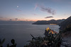 Vernazza night (alain01789) Tags: sunset crepuscule dusk landscape seascape paysage cinque terre vernazza italy velvia