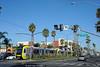 LOS ANGELES--1081 at Long Beach Blvd./10th Street OB (milantram) Tags: electricrailtransport railsystemslosangeles losangeles lacmta streetcars trolleys trams lightrail blueline
