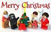 Solos' Christmas (OB1 KnoB) Tags: lego star wars minifigure custom customs solos solo han ben leia kylo ren young c3po red bb8 darth vader helmet christmas prototype