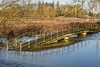 Bridge To Nowhere. (Cycling Saint) Tags: aylestonemeadows leicester floods nikond750nikkor70300f456vr