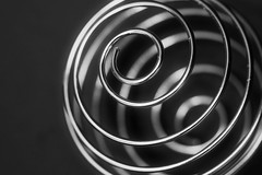 Macro Monday- Redux 2017 - Found in the Kitchen (peggypryor68) Tags: 2018 macro january 112018 memberschoice smoothieblender foundinthekitchen macromonday redux blender ball whisk black white