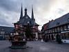 Frohes neues Jahr 2018 (Gruenewiese86) Tags: weihnachten wernigerode happy new year 2018 sachsenanhalt deutschland germany rathaus town townhall harz harzer harzlandschaft