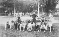 Monticello, IL South School football team [Allerton Library] 2013-10 (RLWisegarver) Tags: piatt county history monticello illinois usa il