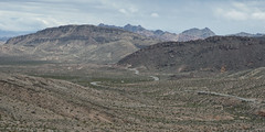 Scenic Drive (magnetic_red) Tags: mountains scenic nature beauty clouds storm lakemeadnationalrecreationarea nevada americanwest outdoors extremeterrain desert road curves drive