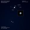 Jupiter & Mars Conjunction (Tim Burgess : Perfexeon) Tags: jupiter io europa callisto mars conjunction ganymede