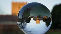 Barton Seagrave church in the evening sun (TrishaM56) Tags: church eveningsun sphere glass