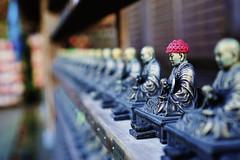 Small budist sculpture (AIexandra) Tags: japan miyajima temple budist sculpture daishoin sony 6000