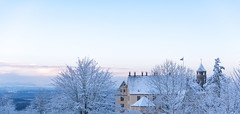 chill (florian.i) Tags: sun morning chill castle snow mountain lake constanze bodensee swiss sky blue hot cold music testing lightroom fake picture winter cool mood weekend