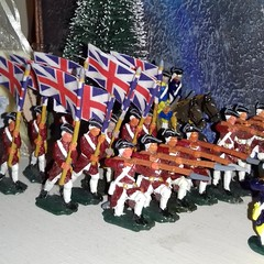 Rule Britannia! 10% off all orders over €20 and free delivery on line infantry because I'm a nice guy. Shop link in bio.  #etsy #etsyfinds #etsyshop #christmas #giftsforhim #colonial #18thcentury #calvary #freedelivery #infantry #soldier #war #battle #rev (MyTinSoldiers) Tags: tinsoldier greatbritain vintage history revwar metalwork battle britishhistory etsyfinds etsyshop christmas war calvary 1776 flintlock bayonet etsy redcoats unionjack vintagetoy british giftsforhim soldier colonial musket freedelivery 18thcentury revolution figurine infantry