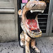 Lion Statue. Olde Good Times. New York City.